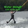water skiing Lake Placid